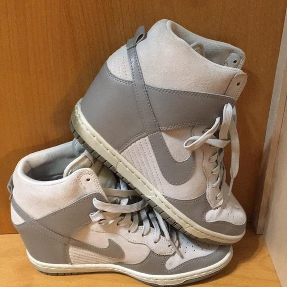 nowa wysoka jakość fantastyczne oszczędności nowe promocje Nike Dunk Sky Hi Sneaker Wedge 528899-005